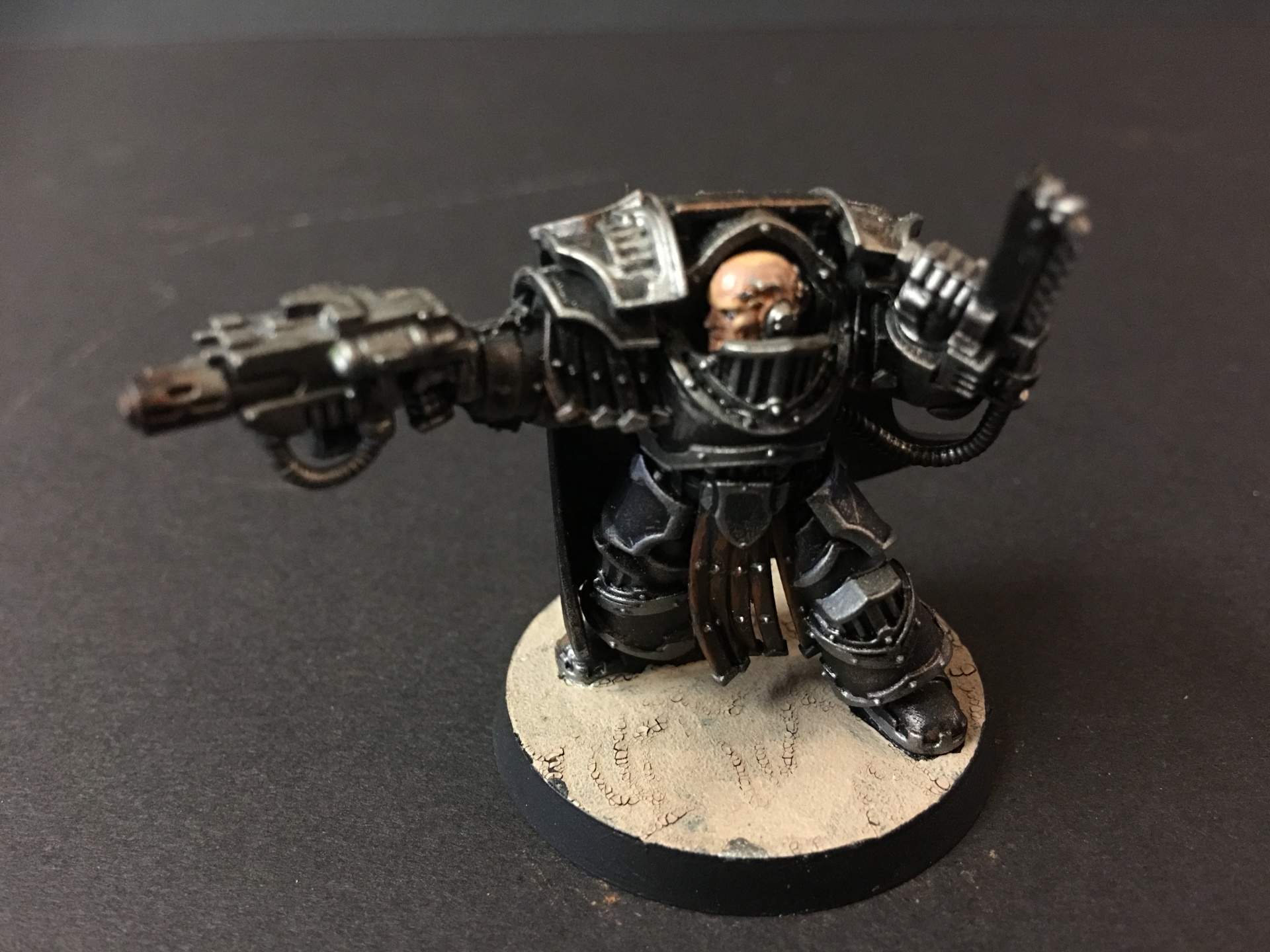 Iron Hands Paretor