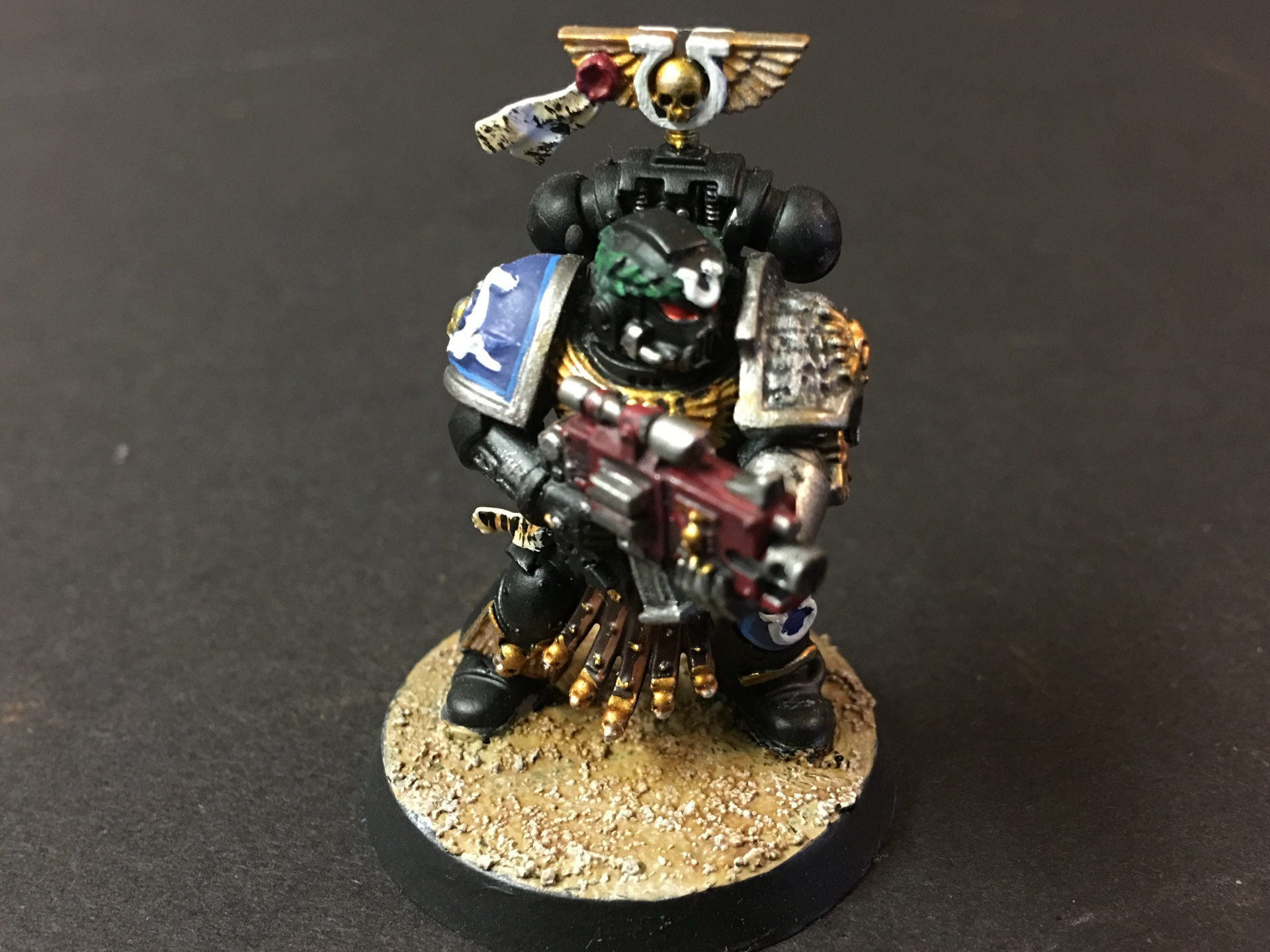 Deathwatch Veteran Space Marine