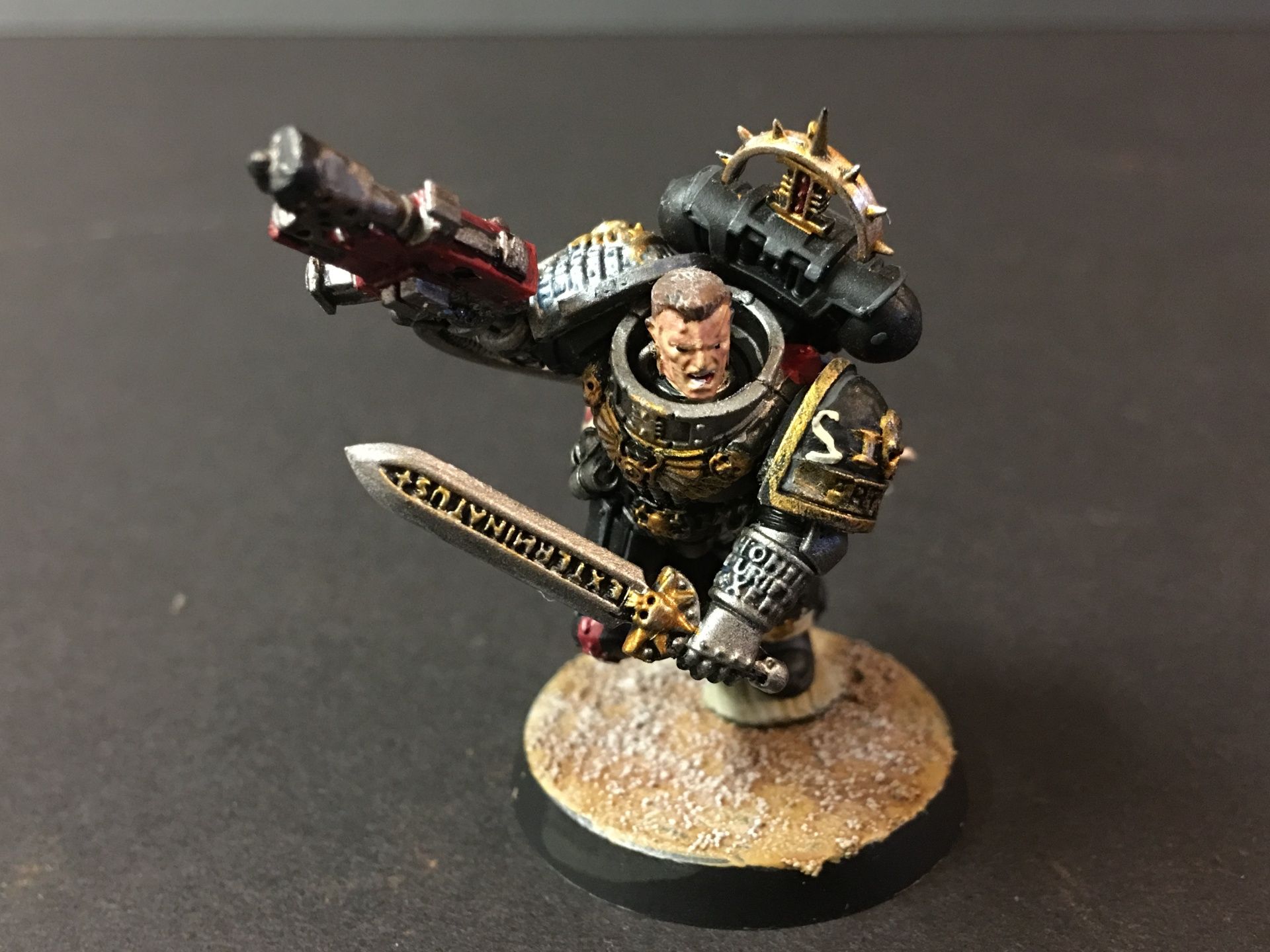 Deathwatch Veteran Space Marine Captain Artemis