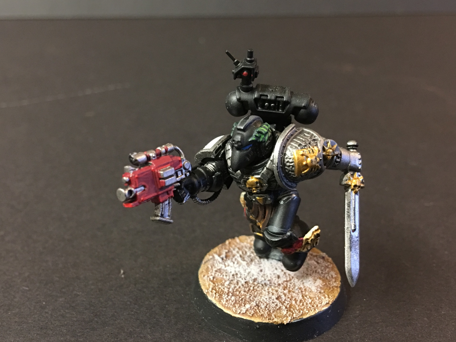 Deathwatch Black Taemplars Veteran Space Marine