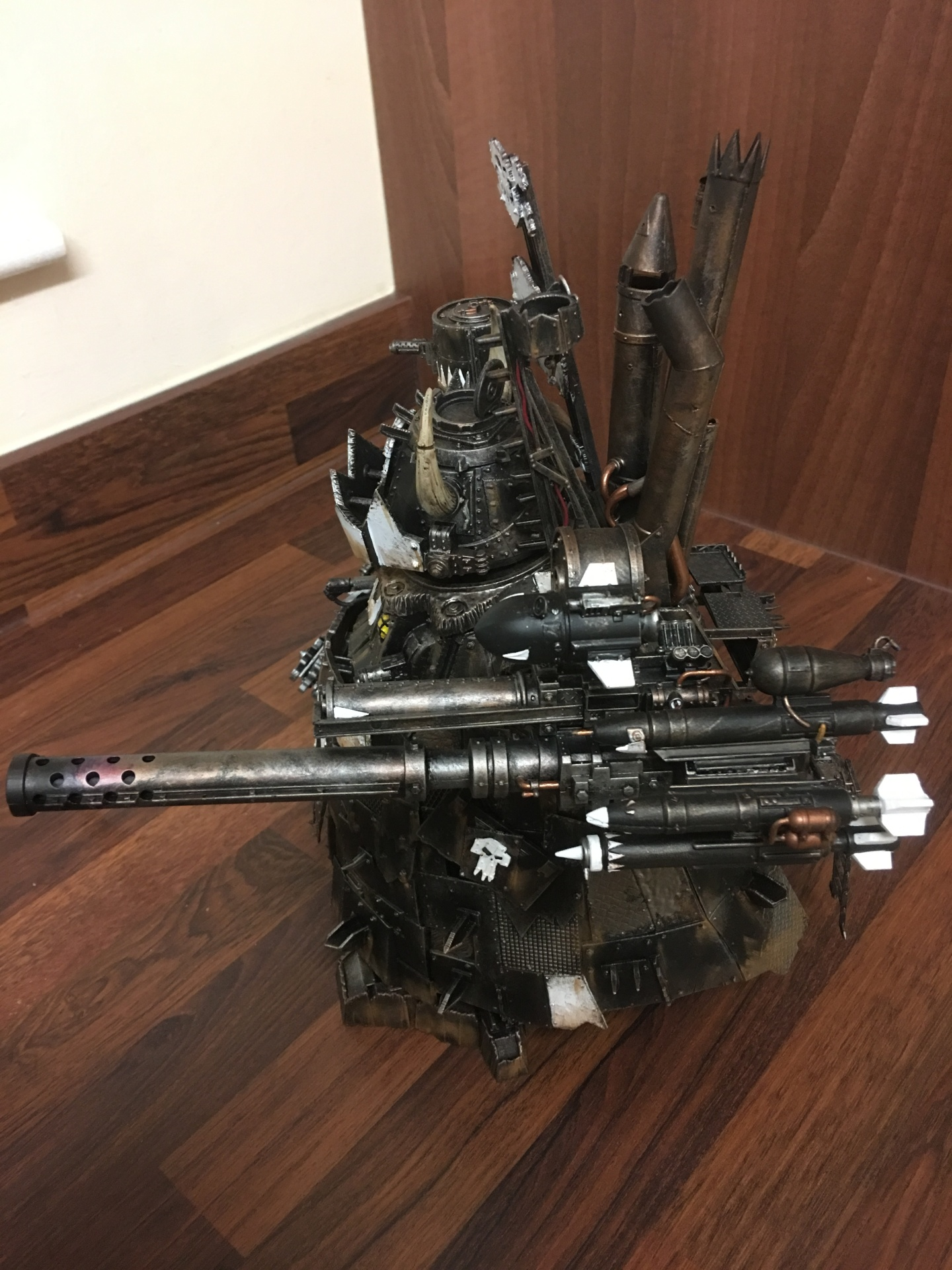 Ork Stompa Close Combat Weapons