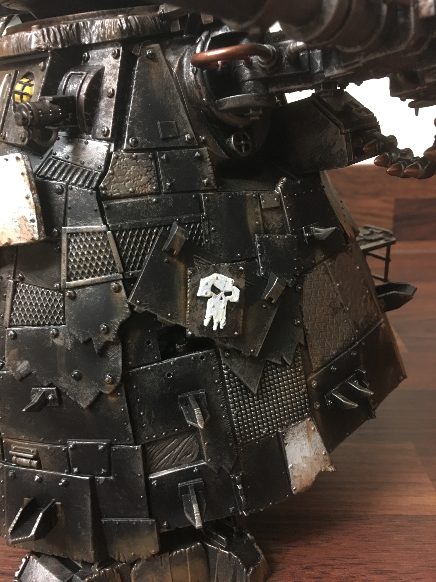 Ork Stompa belly