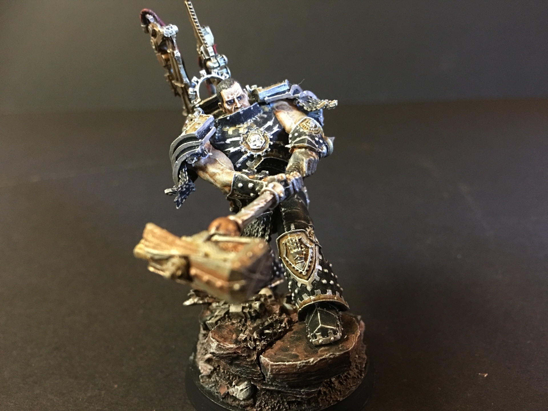 Ferrus Manus, Primarch of the Iron Hands Legion