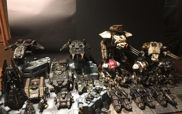 Iron Hands and Supporting Legio Titanicus and Mechanicum