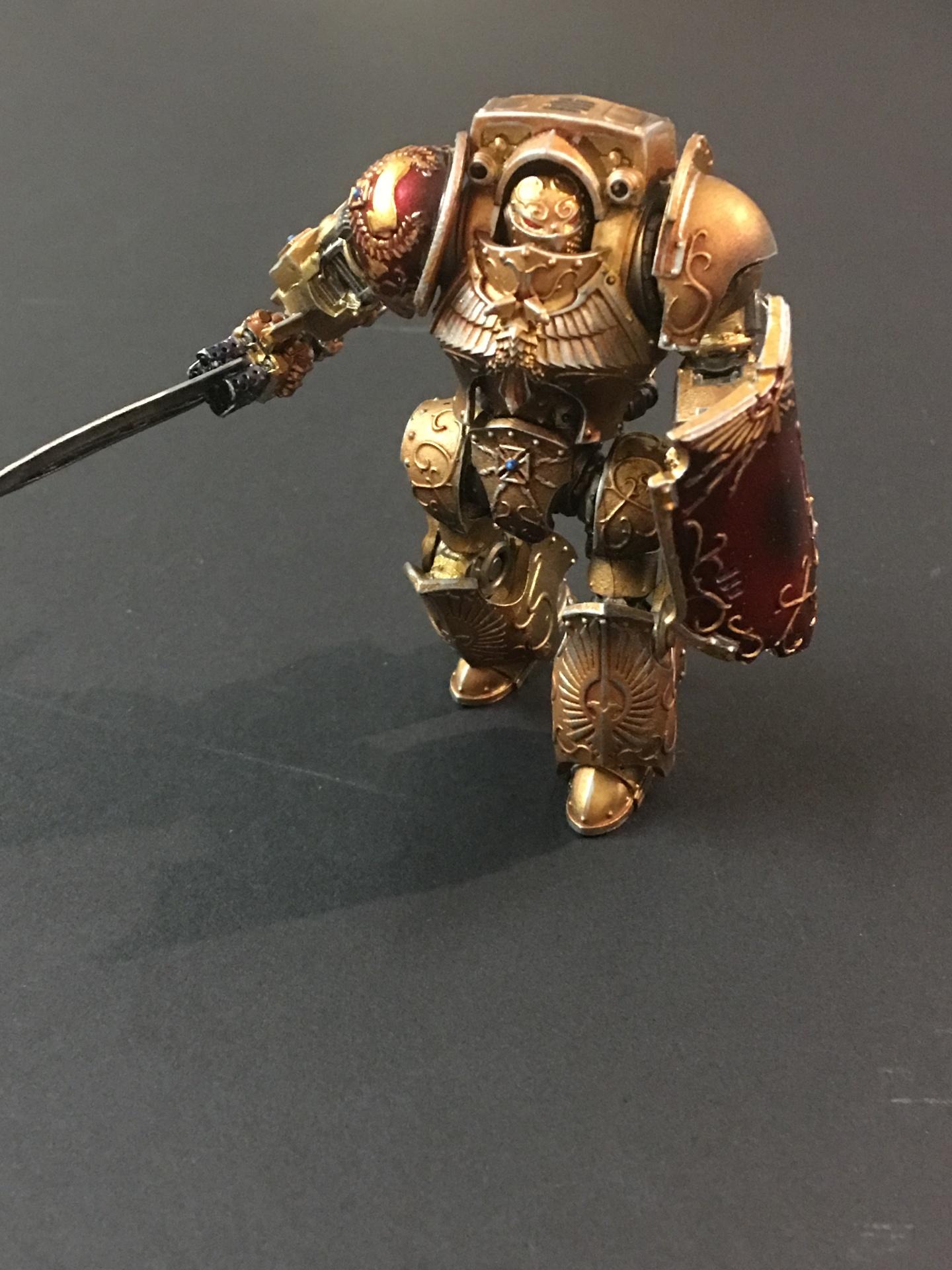 Legio Custodes - Contemptor-Galatus Dreadnought