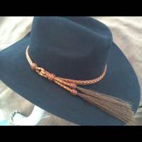 Custom braided hatband