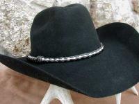 Cowboy hatband braids