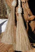 Horse hair tassels for stampede strings