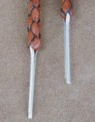 Cotter pin attachment chin strap