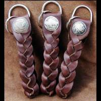 Mystery braid key chains