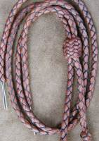 Russet deer leather stampede string