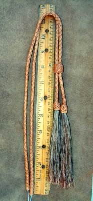 "Measures about 17.5"" braid length"