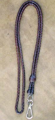 Deer leather Lanyard