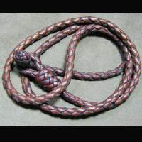 Knot Loop Braided Necklace