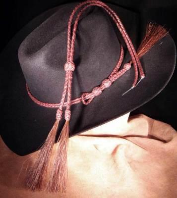 Hatband and stampede string set