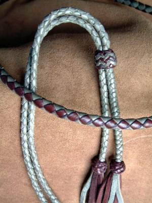 In Stock Leather&Braid Stampede Strings