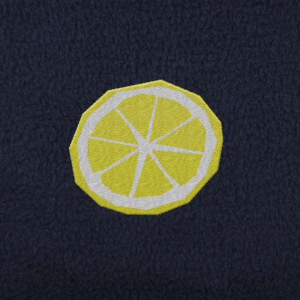 Lemon Embroidery