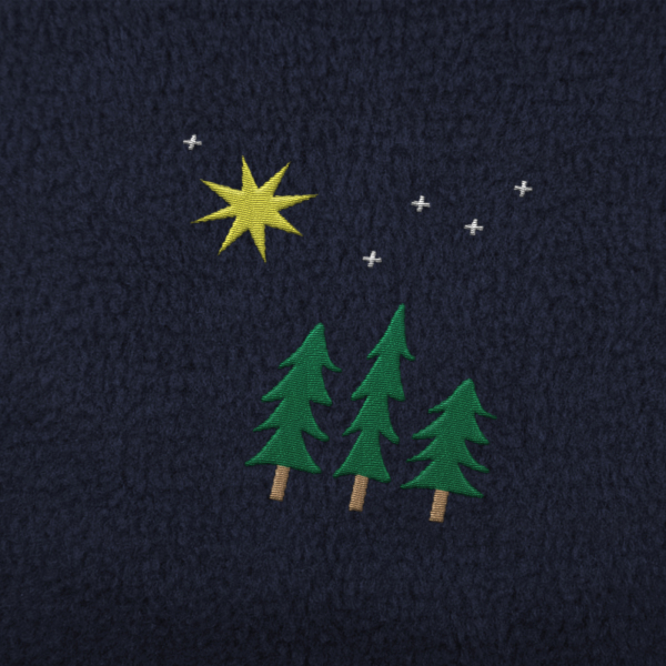 Christmas Trees Embroidery