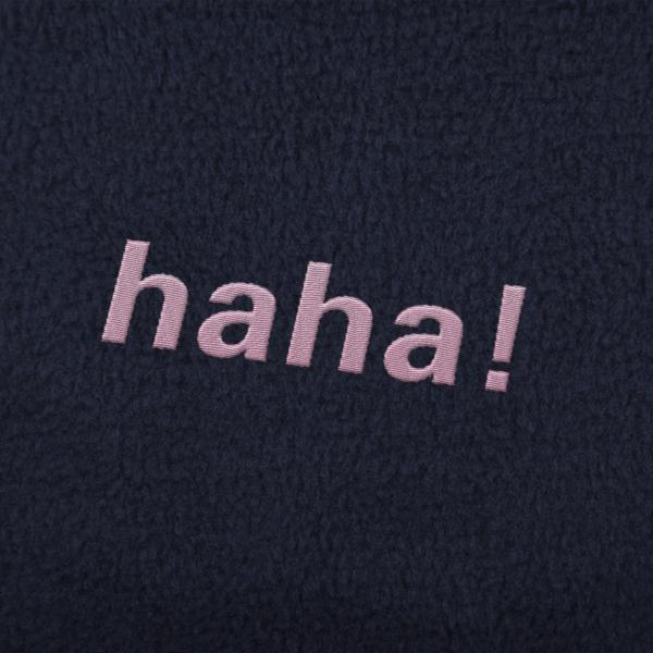 Haha! Embroidery