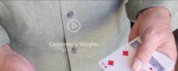 Carpenter's Sleights by Jack Carpenter