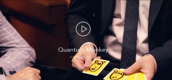 Quantum Monkey by Pipo Villanueva