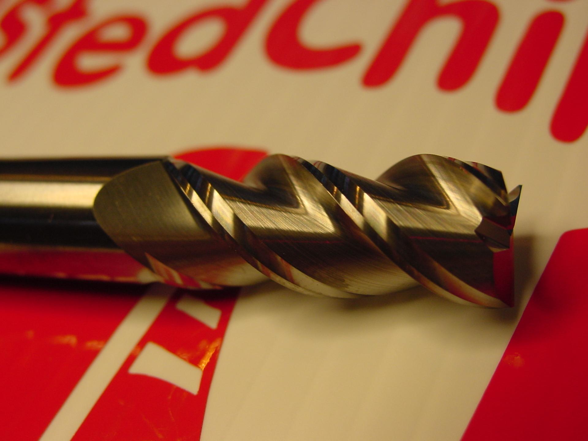 3 Flute Aluminum