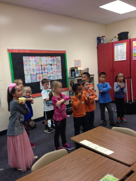 Classes at Worthington Elementary School