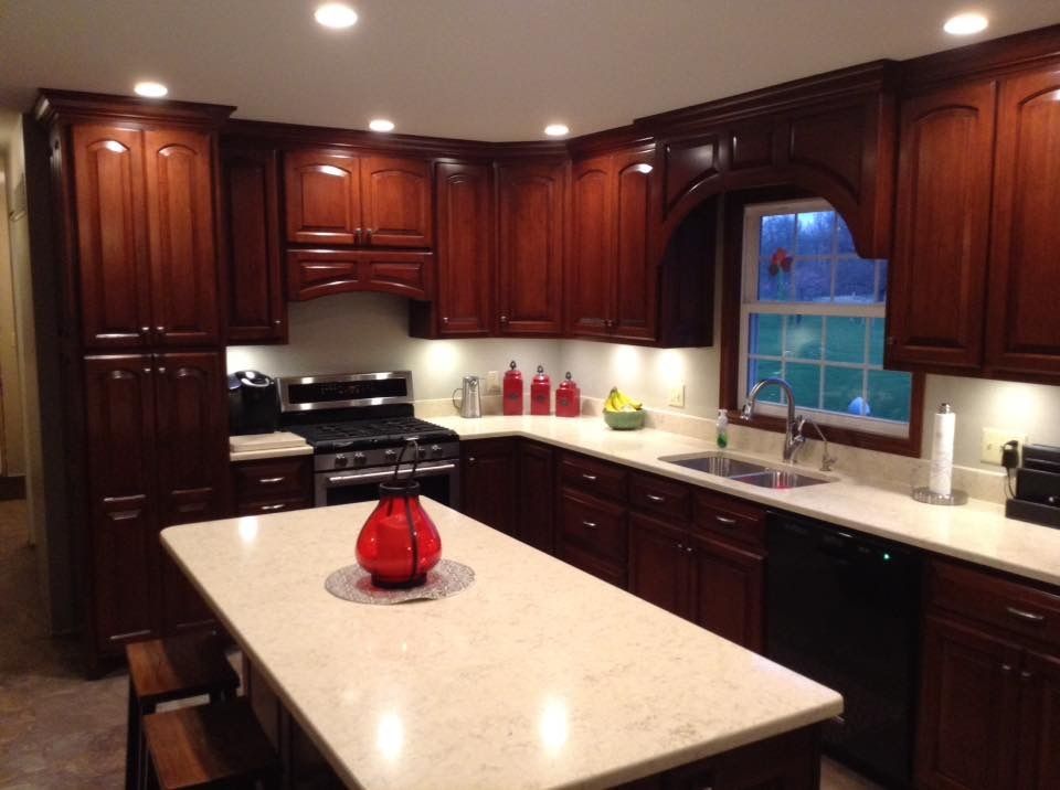Cherry kitchen remodel
