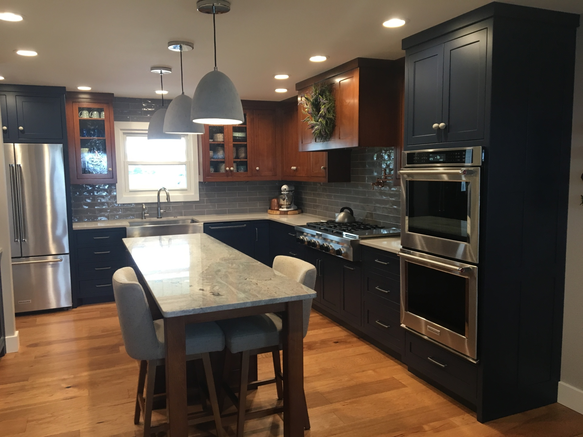 Multi-color Kitchen