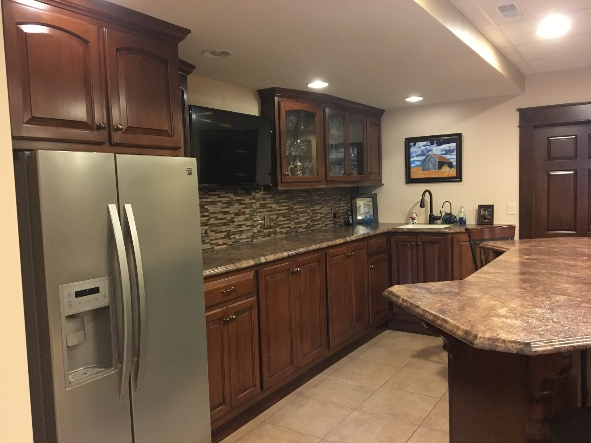 Basement Bar Cabinets