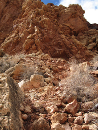 Arizona Crater - A Strenuous Hike