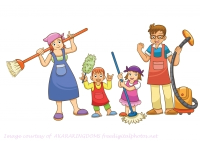 Chores for Kids- Make Cleaning Fun