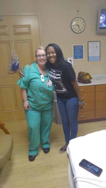 Me and Nurse Amy! 12/28/16