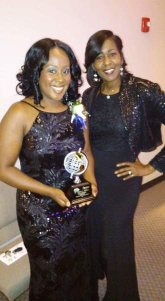 Dr. Tiffanie L. Williams- President and Darlene Richburg- Secretary