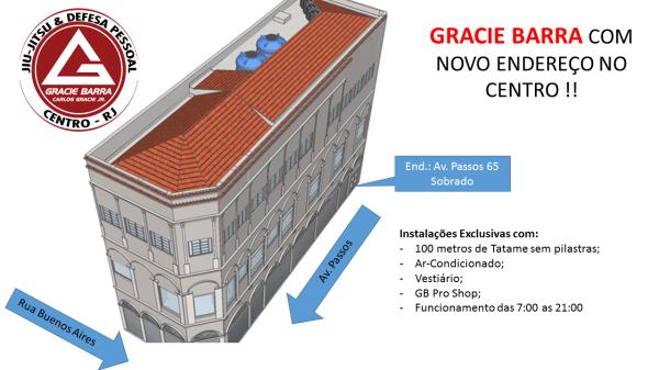 Instalações da GB Centro - RJ