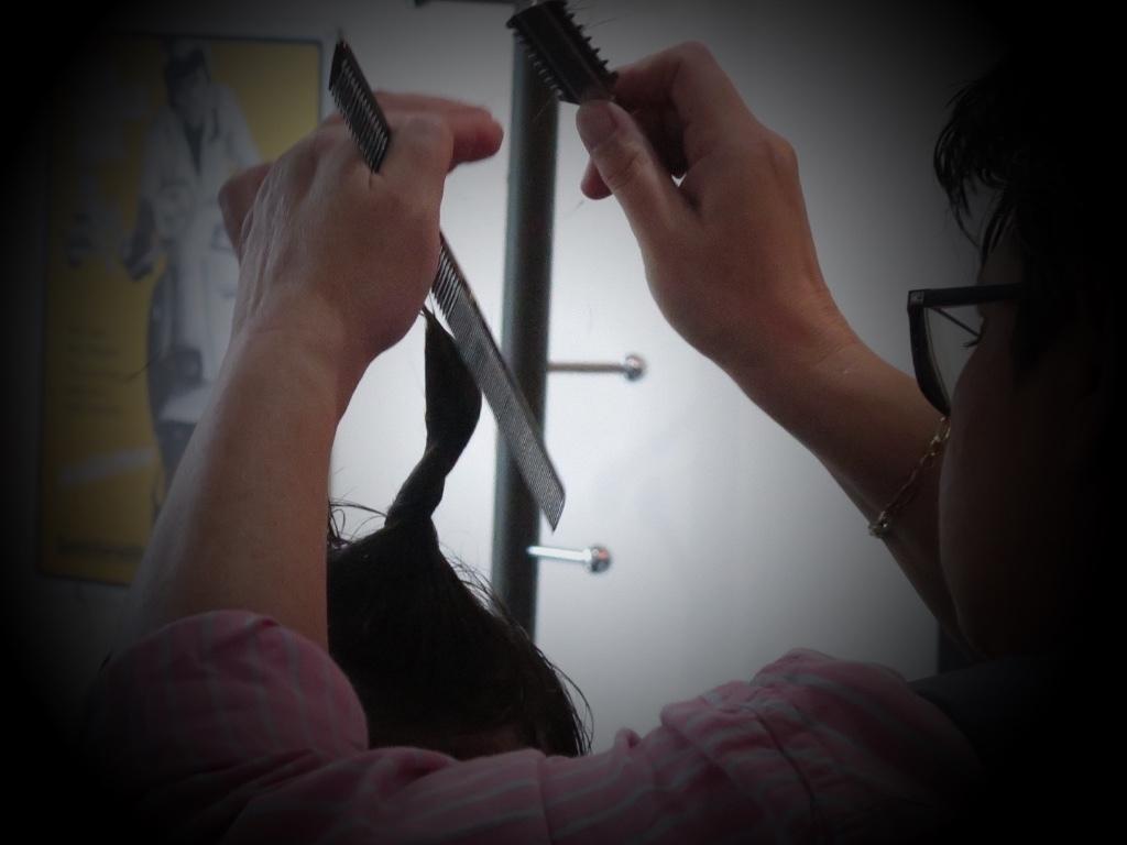 Hair Cut, Wash & Style