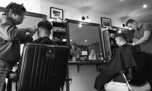 Retro barbering