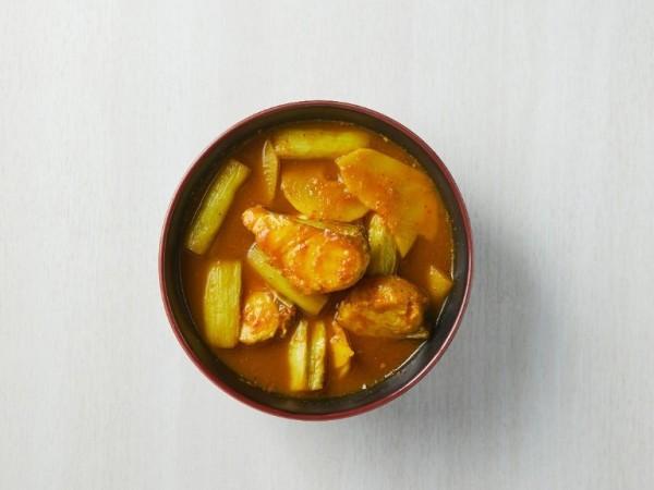 แกงส้มปลาอินทรีอ่าวไทย