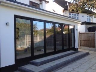 Ground Floor Extension with bi-fold sliding doors