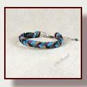 Go to herringbone weave deerskin bracelets.