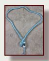 Go to deerskin lariat necklaces with glass focal beads.