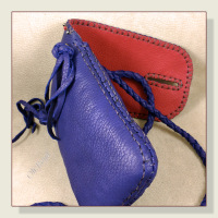This useful little bag is made to last - stitched by hand.