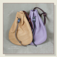 Pack of 4 Deerskin Pouches as Shown and Described