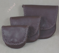 Rosary, Prayer Bead Cases - Brown Leather