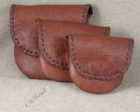 Rosary, Prayer Bead Cases - Tobacco Brown Leather