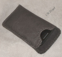 Cell Phone Sleeves by OhBoyd Leather are custom made to fit your phone.