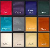 Deerskin colors available for trick braid bracelets.