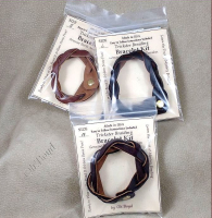 DYI mystery braid bracelets come with instruction sheet.