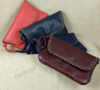 Soft and comfortable wallet fits your front pants pocket.