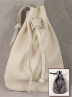 All deerskin drawstring pouches are great for historical reenactment.